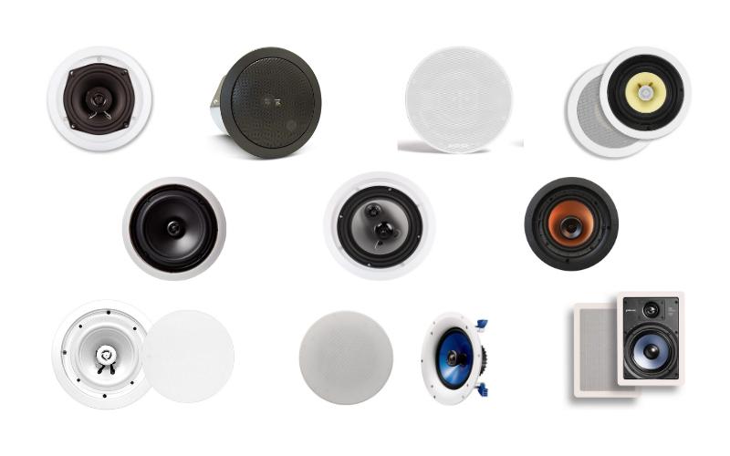10 Best In-Ceiling Speakers of 2021 Reviews